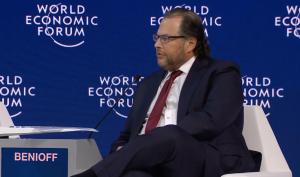 Marc Benioff at Davos 2020