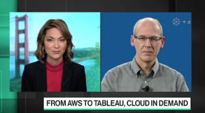 Bloomberg Technology's Emily Chang interviews Tableau's President and CEO Mark Nelson.