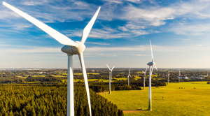 Wind energy imagery