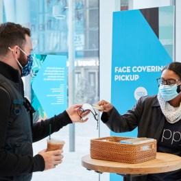 Salesforce Tower San Francisco - Mask Pickup