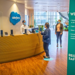 Salesforce Tower London - Checking In